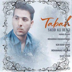 آهنگ جدید سعید علی بیگی بنام تباه کردی + پخش آنلاین