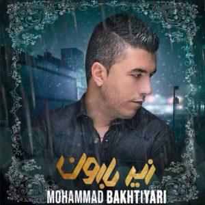 آهنگ جدید محمد بختیاری بنام زیر بارون + پخش آنلاین