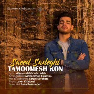 آهنگ جدید سعید صادقی بنام تمومش کن + پخش آنلاین