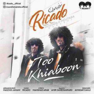 آهنگ جدید ریکادو بنام تو خیابون + پخش آنلاین