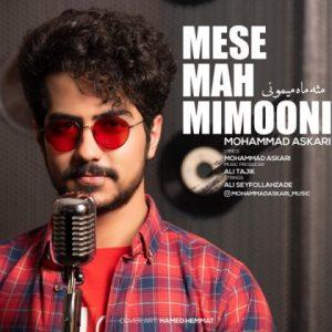 آهنگ جدید محمد عسکری بنام مثه ماه میمونی + پخش آنلاین