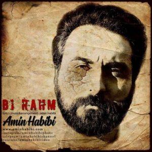 آهنگ جدید امین حبیبی بنام بی رحم + پخش آنلاین